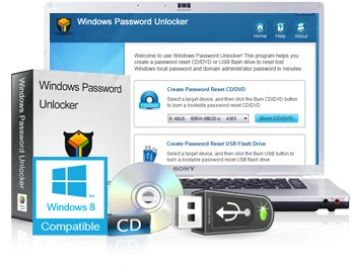 скриншот Windows Password Unlocker Enterprise