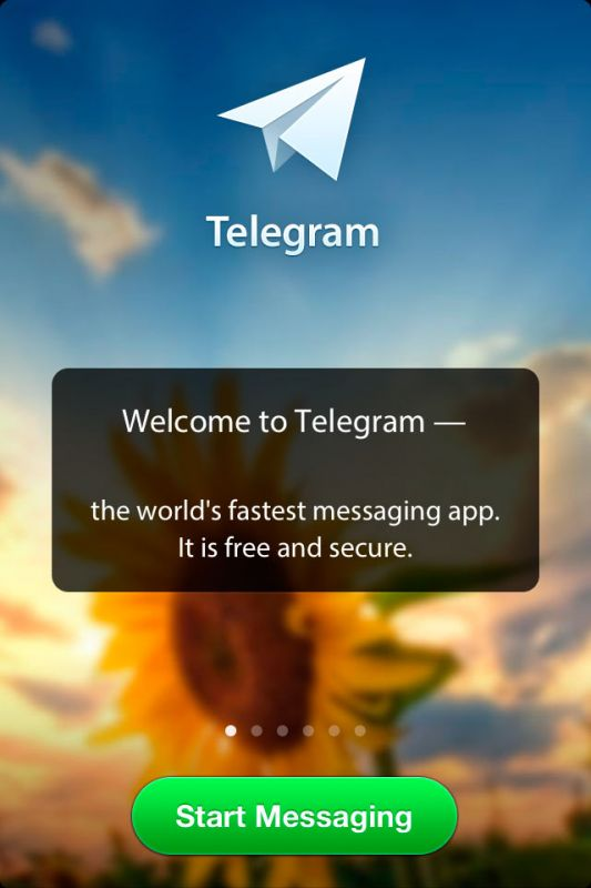 Ipad ipod touch социальные сети telegram messenger 2 7
