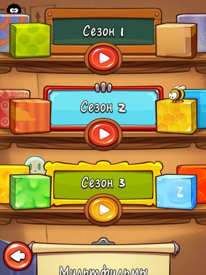 скриншот Cut the Rope HD