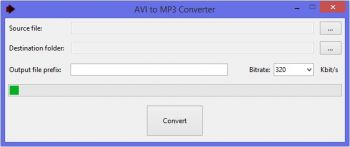 скриншот Best AVI To MP3 Converter
