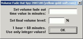 скриншот Volume Fade Out Spy