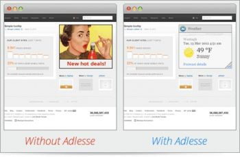 скриншот Adlesse for Windows