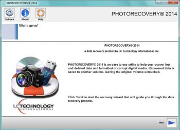 скриншот PHOTORECOVERY Professional 2014