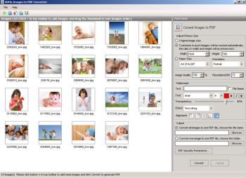 скриншот Images to PDF Converter