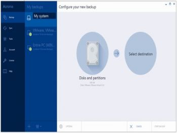 скриншот Acronis True Image 2015 for PC and Mac