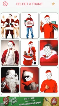 скриншот Merry Christmas Face Photo Booth Free Camera Fx
