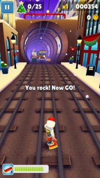 скриншот Subway Surfers