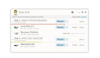 скриншот Disk Drill Windows Data Recovery