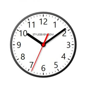 скриншот Desktop Clock Plus-7