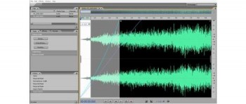 скриншот Adobe Soundbooth