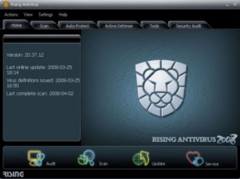 скриншот RISING Antivirus Free Edition