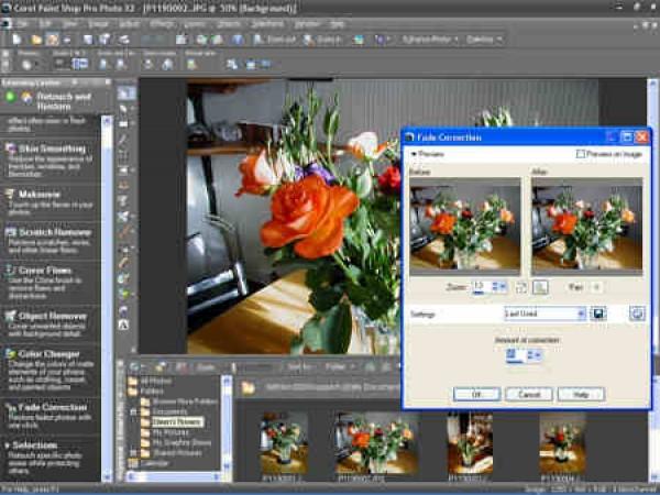 Corel Paint Shop Pro Photo X2 поможет быстро и просто редактировать