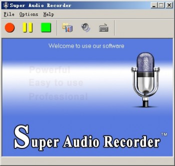 скриншот Super Audio Recorder