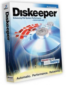 скриншот Diskeeper Professional Premier Edition 2009