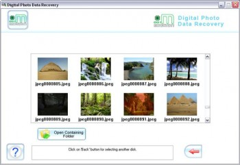 скриншот Digital Image Uneraser Software