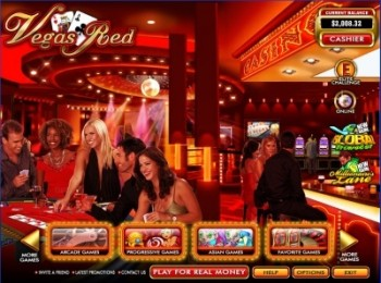 скриншот Casino Vegas Red