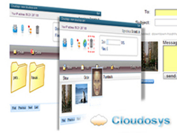 cloudosys how to share your files over th enet