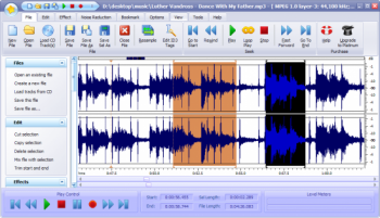 скриншот Power Sound Editor Free