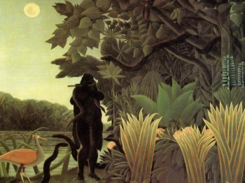 скриншот Henri Rousseau Screensaver - 120 Paintings