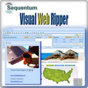 скриншот Sequentum Visual Web Ripper