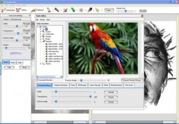 скриншот GMX - PhotoPainter