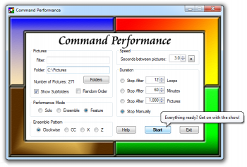 скриншот Command Performance