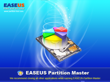 скриншот EASEUS Partition Master Home Edition