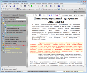 скриншот Aml Pages Organizer