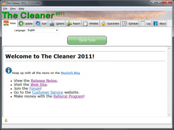 скриншот The Cleaner 2011 (Portable)
