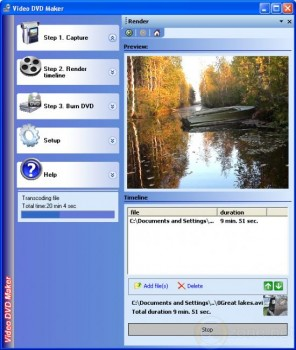 скриншот Video DVD Maker FREE