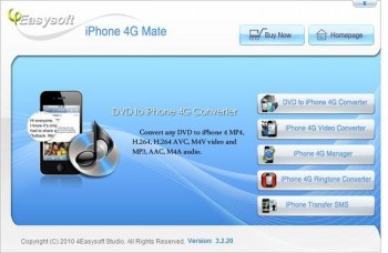 скриншот 4Easysoft iPod + iPhone 4G Mate