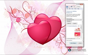 скриншот Valentine's Day Windows 7 Theme