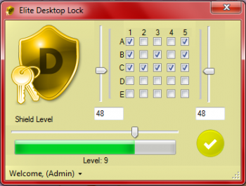 скриншот Elite Desktop Lock