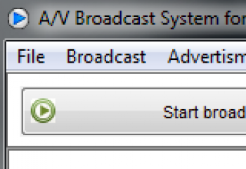 скриншот A/V Broadcast System for Cable TV