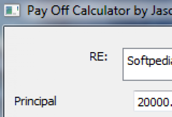 скриншот Payoff Calculator