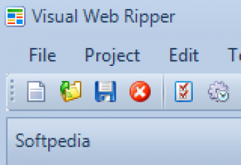 скриншот Visual Web Ripper