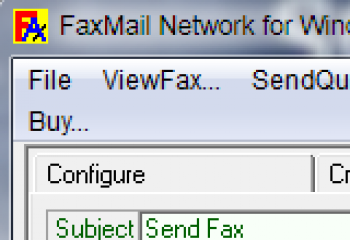 скриншот FaxMail Network for Windows