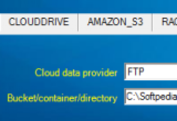 скриншот Cloud Drive Storage Service