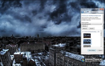 скриншот Storm Windows 7 Theme