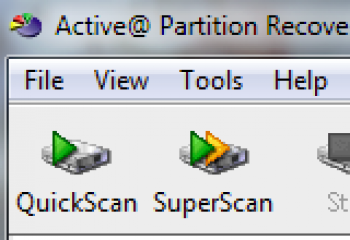 скриншот Active Partition Recovery