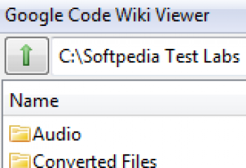 скриншот Google Code Wiki Viewer