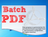 фото Batch PDF Stamp  1.0