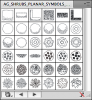 Artisans Gardens Landscape Design Symbols in Plan View B&W  - Best-soft.ru