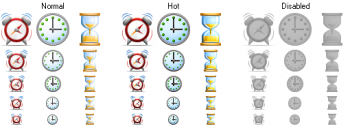 скриншот Perfect Time Icons