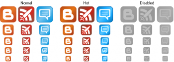 скриншот Perfect Blog Icons