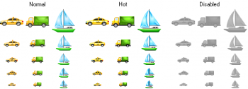 скриншот Perfect Transport Icons
