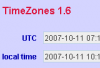 фото TimeZones  1.9 Build 9418