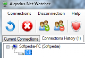 скриншот Algorius Net Watcher