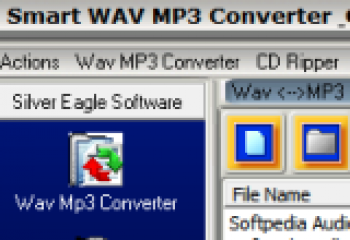 скриншот Smart Wav MP3 Converter & CD Ripper