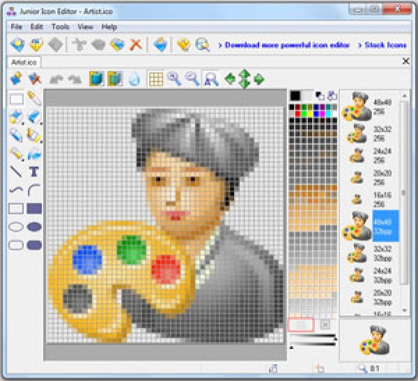 IconoMaker 3.32 by Icon Empire: Simple icon editor to create smooth.
